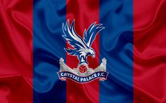 Lataa kuva Crystal Palace FC, Football Club, Premier League, jalkapallo, Lontoo, UK, Englanti, tunnus, Crystal Palace logo, Englannin football club