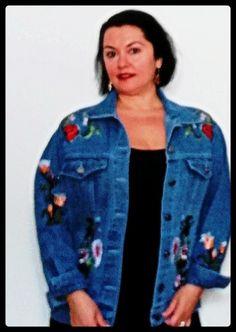 Denim, Jackets, Shopping, Fashion, Down Jackets, Moda, Fashion Styles, Fashion Illustrations, Jacket
