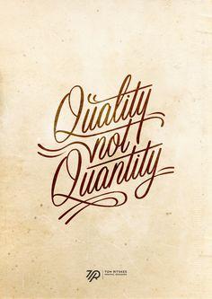 Quality...