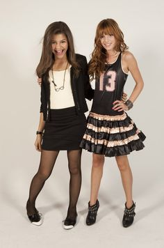 Pin for Later: Look Back on Zendaya's Evolution From Disney Star to Hollywood Icon October 2010 She partied it up at her Shake It Up costar Bella Thorne's 13th birthday bash.