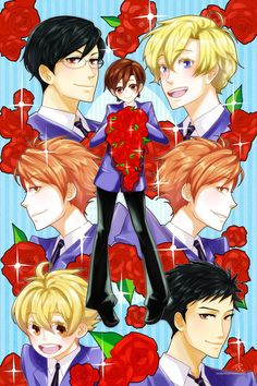 kiss, kiss, fall in love by mangOKappu on DeviantArt Colégio Ouran Host Club, Ouran Highschool Host Club, Host Club Anime, High School Host Club, Otaku, School Clubs, Kaichou Wa Maid Sama, Anime Manga, Falling In Love
