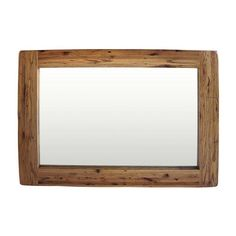 Reclaimed Oak Wall Mirror including free delivery (908.541)   Pine Solutions - RMK123