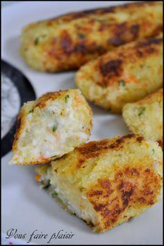 Croquettes de surimi et son fromage Kiri :) Une recette facile à préparer :) #kiri #recette #gourmande #pane #facile #surimi #fromage #enfant