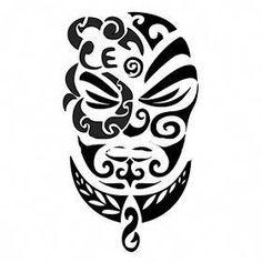 TATTOO TRIBES: Tattoo of Mana, Autority, power tattoo,mana warrior manaia fern tattoo - royaty-free tribal tattoos with meaning Black Tattoos, Body Art Tattoos, New Tattoos, Tattoos For Guys, Tatoos, Tiki Tattoo, Fern Tattoo, Tattoo Painting, Tribal Tattoos With Meaning