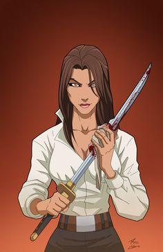 Talia Al Ghul as civilian
