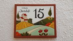 Ceramic Tile Art, Ceramic Houses, Ceramic Pottery, Ceramic House Numbers, Diy Crafts For Home Decor, Color Crafts, Paper Clay, Glass Art, Projects To Try