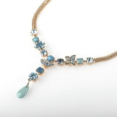 JJ Caprices - Drop Ocean Necklace by AMARO