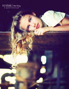 Portrait Photography Inspiration : LOVE this look.
