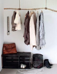 Neue Garderobe