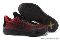 06e36c1f879b2f Masculino Kobe Bryant Nike Kobe X Vermelho Preto Nike Kids Shoes