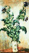 "New artwork for sale! - "" Claude Monet - Purple Poppies by Claude Monet "" - http://ift.tt/2lE2FCA"