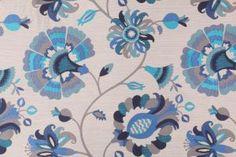 Richloom :: Richloom Sofia Tapestry Upholstery Fabric in Sapphire $14.95 per yard - FabricGuru.com: Discount and Wholesale Fabric, Upholstery Fabric, Drapery Fabric, Fabric Remnants