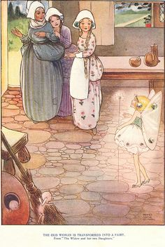 """by Mabel Lucie Attwell, from """"French Fairy Tales"""", via Flickr."""