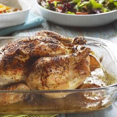 How to Make a Delicious Rotisserie-Style Chicken in the Oven