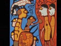 Norval Morrisseau- Land rights, Here's a good one to tie into the revised Ont. document in grade 5 for Inquiry Learning Aboriginal Art For Sale, Aboriginal Painting, Inuit Kunst, Inuit Art, Georges Pompidou, Pompidou Paris, Native American Artists, Canadian Artists, Art Indien