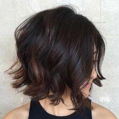 Brunette Bob Haircut