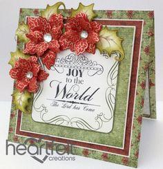 Heartfelt Creations | Red Poinsettia Joy