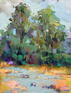 Shallow Water by Trisha Adams Oil ~ 16 x 12
