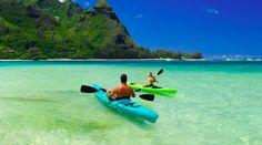 Kauai! Ocean Kayaking