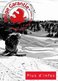 Profitez du contrat #neige garantie à #serrechevalier - Station de ski dans les Hautes Alpes
