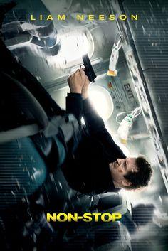 Non-Stop Movie Poster - Liam Neeson  #MoviePoster, #ActionAdventure…