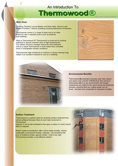 Thermowood cladding supplied by Vincent Timber.