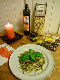 Trofie pasta med pesto ✿ Gå inn på facebook : https://www.facebook.com/edelsmatvin -og bli med på trekning av pasta & pesto !