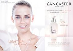 Pauline Ducruet is the new face of the Lancaster campaign in Asia
