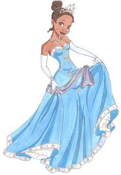 tiana disney | disney princesas mayo 2012 fan arts de las princesas disney tiana