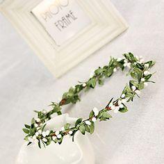 Women's/Flower+Girl's+Silk+Headpiece+-+Wedding/Special+Occasion+Wreaths+–+EUR+€+6.85