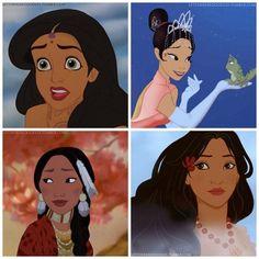 Racebend das Princesas Disney