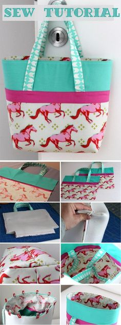 Simple Bag Sew Tutorial http://www.handmadiya.com/2018/04/simple-bag-sew-tutorial.html