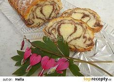 Marcipánový chlebíček recept - TopRecepty.cz French Toast, Muffin, Bread, Breakfast, Food, Morning Coffee, Brot, Essen, Muffins