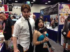 Bigby/Faith duo at SDCC