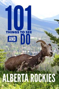 101 activities in Canada's Alberta Rockies. covering Jasper and Banff National Park, things to do for all ages and interests.