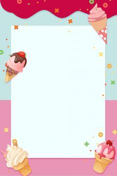 Ice Cream Background, Kids Background, Cake Wallpaper, Pink Wallpaper Iphone, Summer Ice Cream, Ice Cream Party, Ice Cream Cartoon, Pastel Background Wallpapers, Candy Birthday Cakes