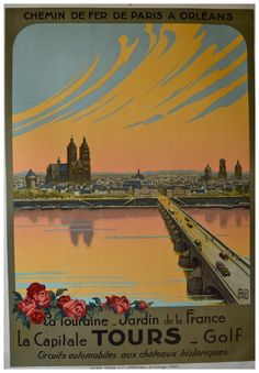 Tours/ Date: 1930 ca. Artist: Charles Halo (ALO)