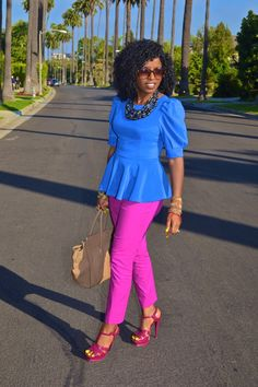 Love the colors! #style #fashion #summertime