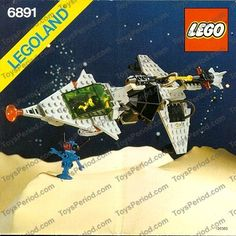 LEGO 6891 Gamma-V Laser Craft Image 1