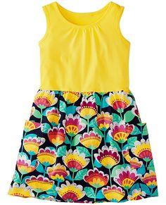 Feeling Sunny Dress from #HannaAndersson.