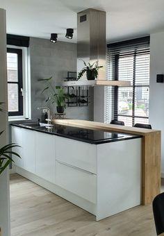 Loft Kitchen, Kitchen Interior, New Kitchen, Kitchen Decor, Kitchen Essentials, Kitchen Styling, Cool Kitchens, Interior Styling, Kitchen Remodel