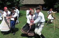 Czech Republic - Village Museum in Strážnice Folk Costume, Costumes, Back In Time, Czech Republic, Traditional Outfits, 19th Century, Museum, Culture, World