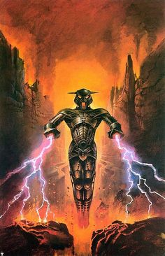 """Dedicated to all things """"geek retro:"""" the science fiction/fantasy/horror fandom of the past including pin up art, novel covers, pulp magazines, and comics. Arte Alien, Arte Sci Fi, 80s Sci Fi, 70s Sci Fi Art, Space Fantasy, Sci Fi Fantasy, Fantasy Artwork, Classic Sci Fi, Retro Futuristic"""