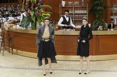 Staging vs. Style: At Chanel, Saint Laurent and Valentino, Which Comes First? - NYTimes.com