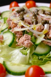 Maaltijdsalade met tonijn - LoveMyFood