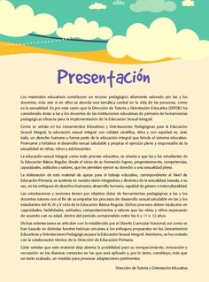 Guia educacion-sexual-integral-nivel-primaria Education, 3rd Grade Activities, Psicologia, Onderwijs, Learning