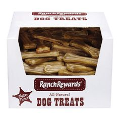 "Ranch Rewards Bulk Pressed Rawhide Bones - Flavored Treats for Dogs, 8"", 50-Count ** Continue to the product at the image link."