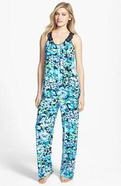Midnight by Carole Hochman  Moonlit Garden  Pajamas  2bde3da3e