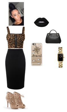 Untitled #198 by hodges473 on Polyvore featuring polyvore fashion style WearAll Alexander McQueen Apt. 9 Burberry Chanel Casetify Lime Crime clothing