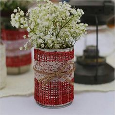 Bote deco red